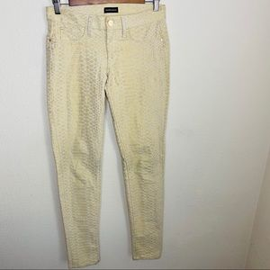 Marciano Skinny Jeans No 61 Snake Embossed Sz: 24